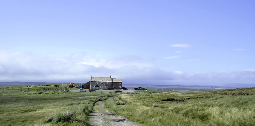 Tan Hill Inn on the Pennine Way
